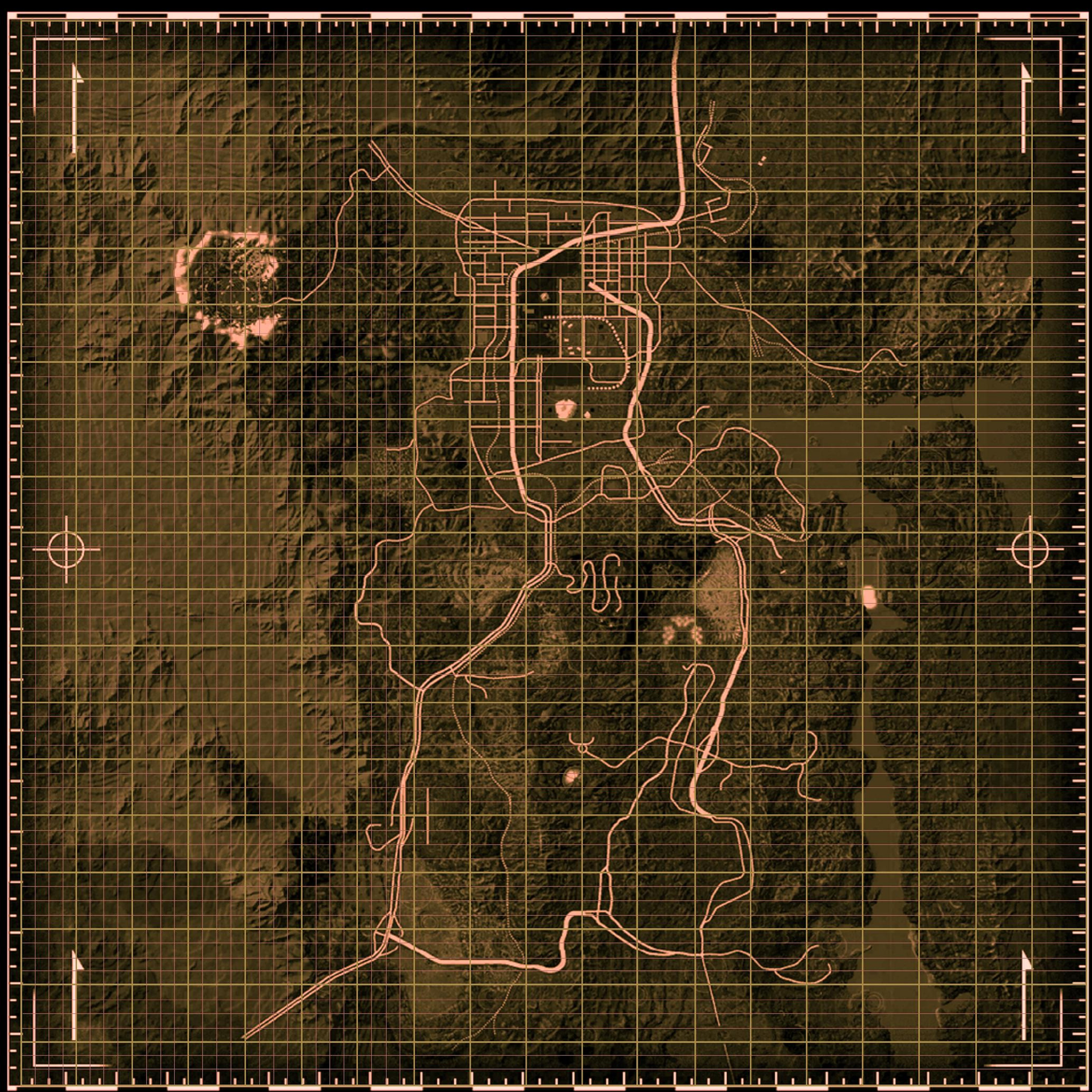 Talk Fallout New Vegas map The Fallout wiki Fallout New Vegas and more