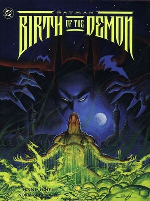 Cover for Batman: Birth of the Demon #1