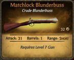 Matchlock Blunderbuss 2010-11-25