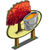 Red Maple Tree Mastery Sign-icon