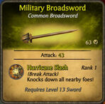 Military Broadsword 2010-11-27
