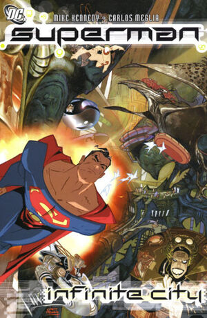 Cover for Superman: Infinite City #1