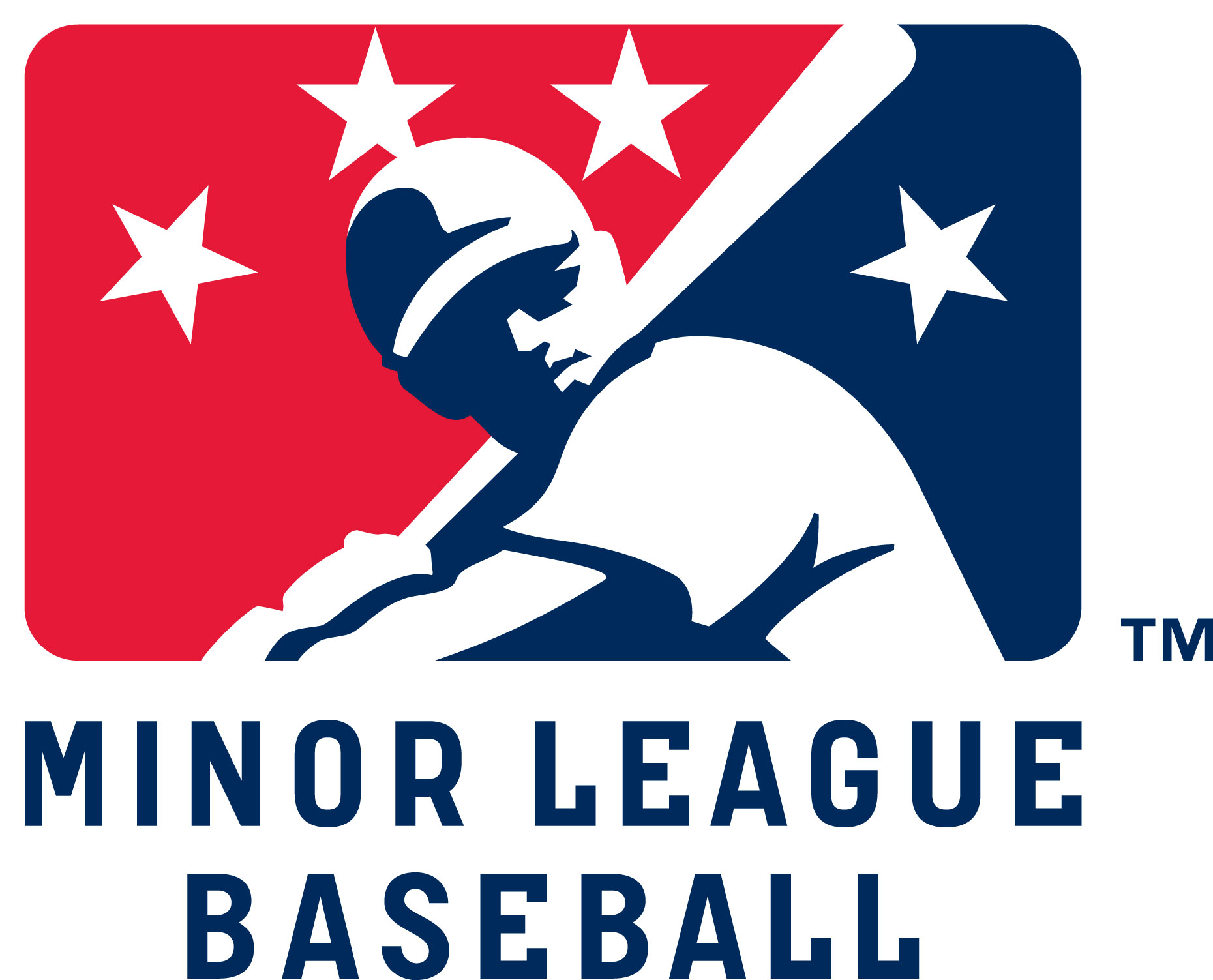 file minor league baseball logo jpg   baseball wiki