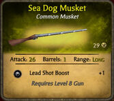 Sea Dog Musket 2010-11-28
