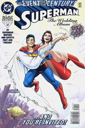 Cover for Superman: The Wedding Album #1