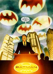 Bruce Wayne returns and goes public