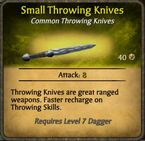 Small Throwing Knives 2010-11-29