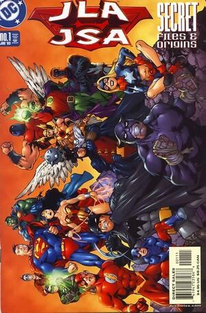 Cover for Justice League (one-shots) #1
