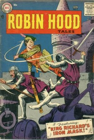 Cover for Robin Hood Tales #7