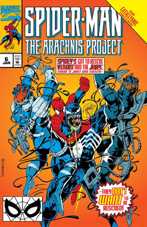Spider-Man The Arachnis Project Vol 1 6