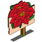Poinsettia Mastery Sign-icon