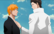 Aizen Ichigo too close-1-