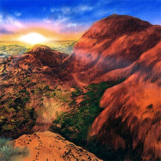 Ayers Rock Sunrise - Yu-Gi-Oh!