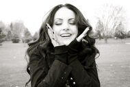 Liz gillies in winter