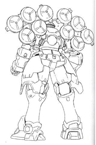 Mercurius, 1/144 plastique Bandai de Wing Gundam 319px-OZ-13MSX2_Mercrius_Back_View_Lineart