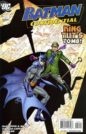 Cover for Batman Confidential #28 (2009)