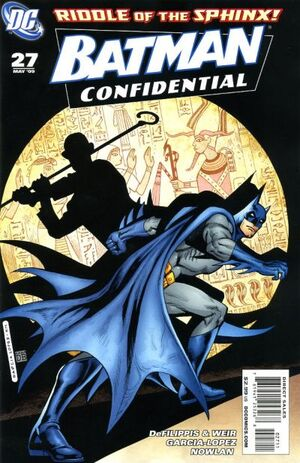 Cover for Batman Confidential #27