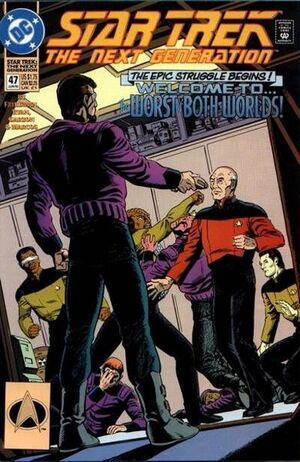 Cover for Star Trek: The Next Generation #47