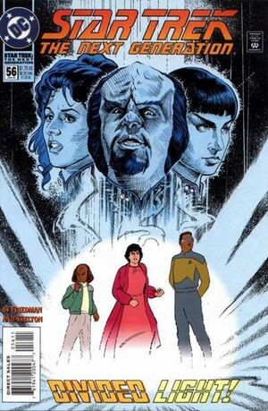 Cover for Star Trek: The Next Generation #56