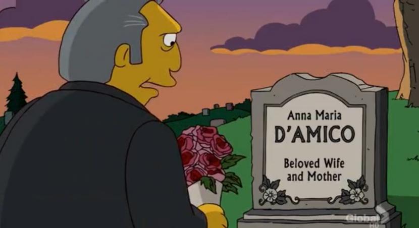 Los personajes muertos de Los Simpsons
