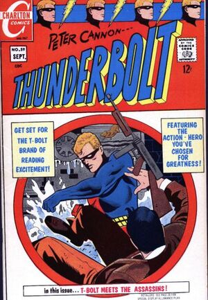 Cover for Thunderbolt #59