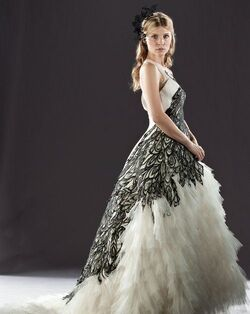 Fleur Delacour's wedding dress