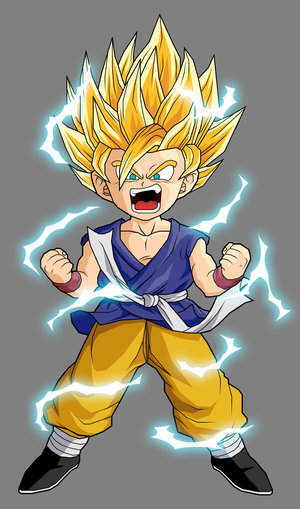 until Goku used his Super Saiyan 3 form. Vegeta's rage consumed him when
