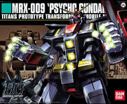 HGUC - MRX-009 Psycho Gundam - Boxart