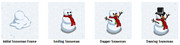 Facebook farmville freak snowman stages