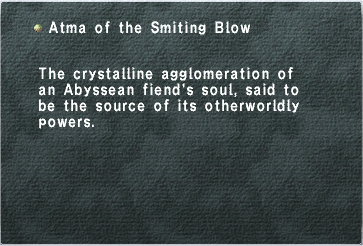 Atma of the Smiting Blow