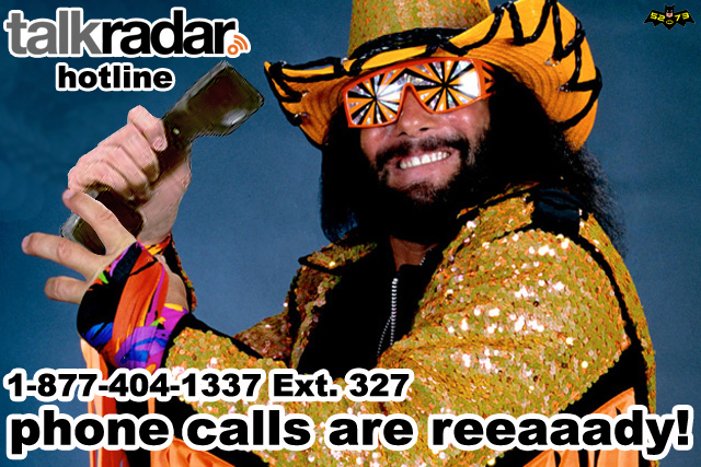 The TalkRadar hotline number is 1-877-404-1337 Ext. 327 (DAR) a.k.a. (FAP).