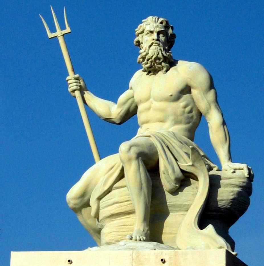 poseidon god of the sea Poseidon, in greek religion, god of the sea (and of water generally), earthquakes, and horses he is distinguished from pontus, the personification of the sea and the oldest greek divinity of the waters.