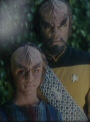 Worf and Alexander image