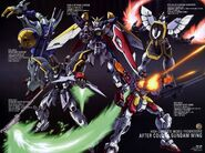 The Gundam Pilots - Gundam Mobile Suits