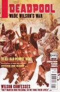 Deadpool Wade Wilson&#39;s War Vol 1 1