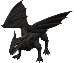 Black dragon HD