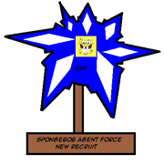 SpongebobAgentNewRecruitAward