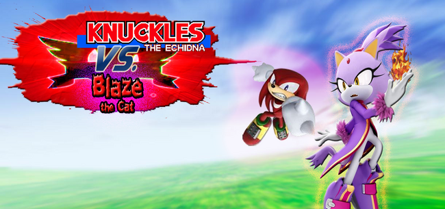 Knuckles-and-Blaze-fight