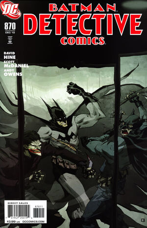 Cover for Detective Comics #870