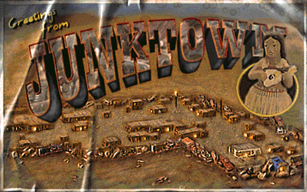 Fo1 Junktown Postcard