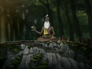 Pathik surrounded by nature