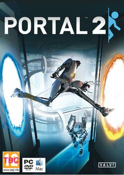 Portal 2 cover