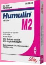 Humulin M2