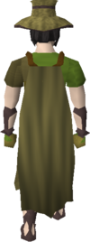 Moonclan cape equipped