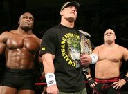 Lashley, Cena and Kane