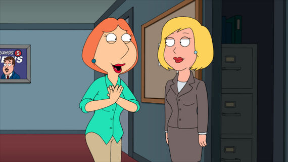 Family Guy Season 9 Episode 9 And I'm Joyce Kinney