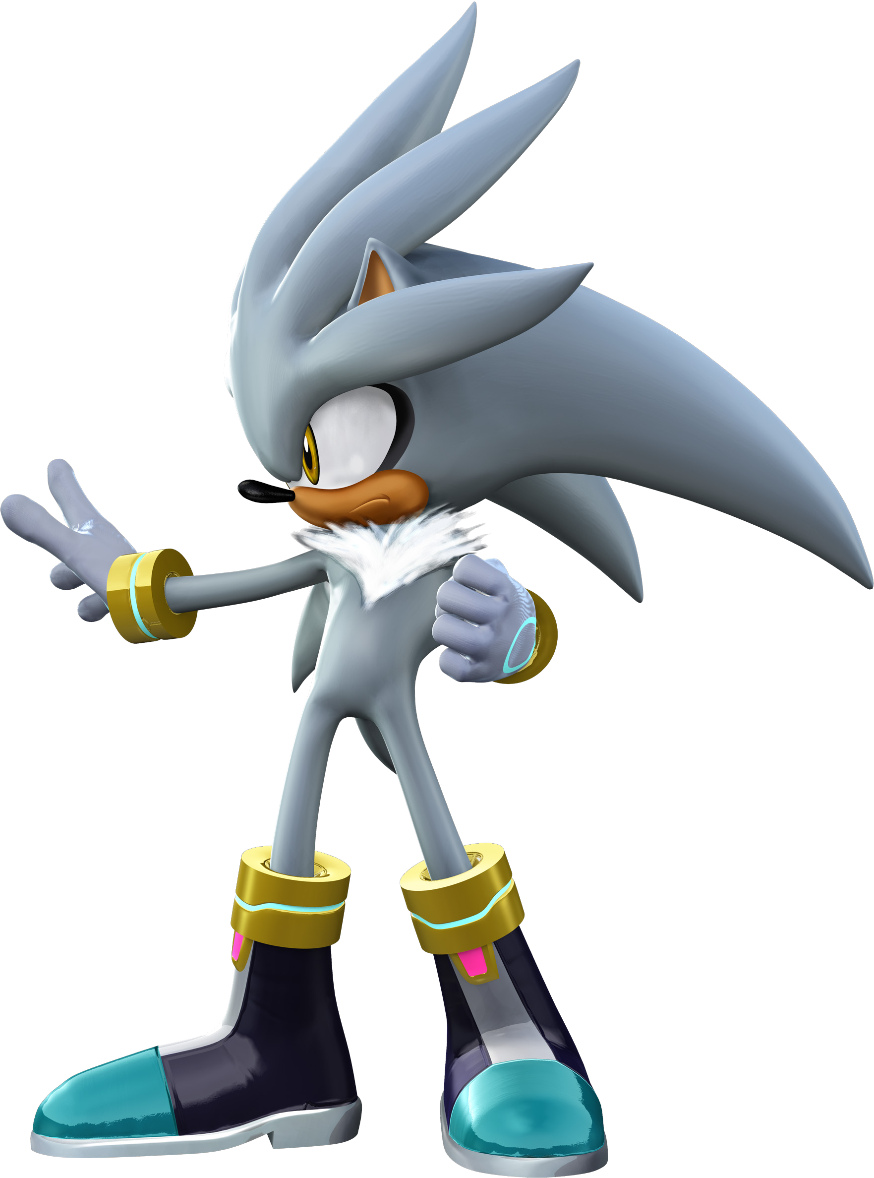 Sonic the Hedgehog (2006) Sonic06_silver2