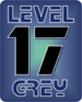 Grey 17 icon