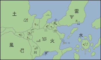 Naruto World Map