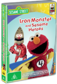 IronMonsterandSesameHeroesAustralianDVD